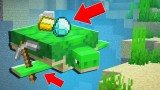 Minecraft: Pet Mining Turtle Only One Command
