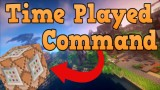 Minecraft: Server Time Played Only One Command