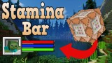 Minecraft: Stamina Bar Only One Command