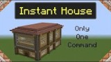 Minecraft: Instant Big House Only One Command
