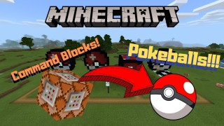 Minecraft: Working Pokeballs Only One Command