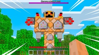 Minecraft: Huge Boss Only One Command